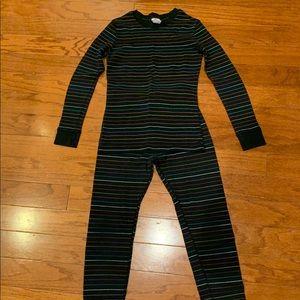Cherokee girls 2 piece thermal pajamas